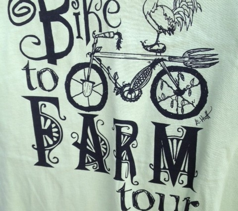 Bike to Farm T-Shirt